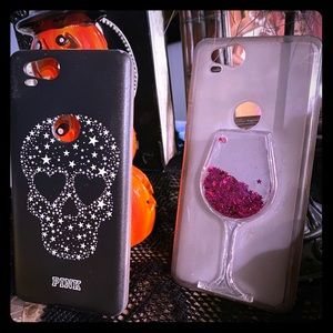 black pink google pixel 2 two soft phone case